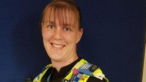 PCSO Vicki Jackson is our Safer Schools Officer